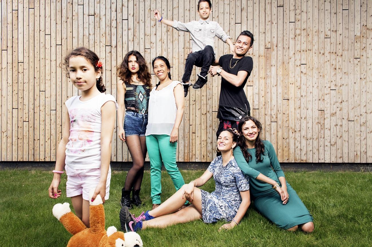 Catharina en familie2